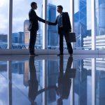 Asian Business Handshake