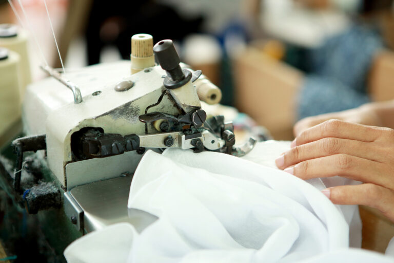 Textile sourcing in Asia and Latin America.