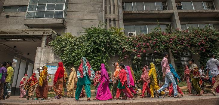 Modaes-Menos margen para la moda Bangladesh presiona aun mas a los gigantes del sector.