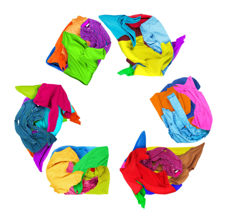 Circular fashion is textile recycling