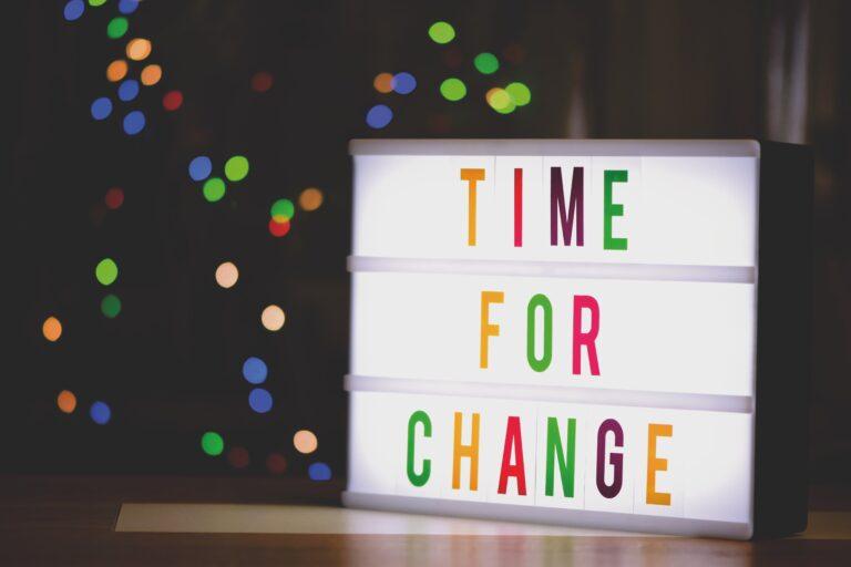¿Por qué cambiar?